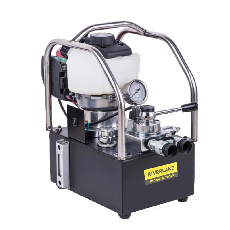 gas powered hydraulic power pack