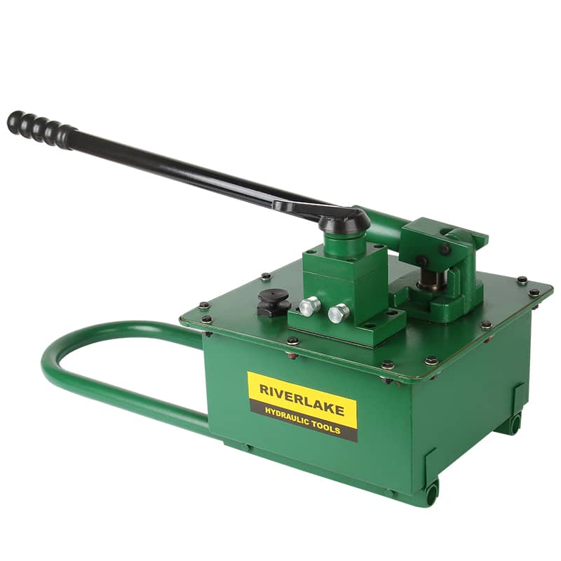 Double acting Manual Hydraulic Pump