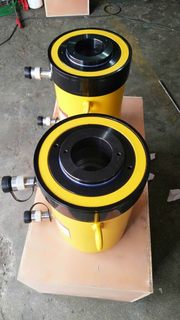 hollow plunger hydraulic cylinder
