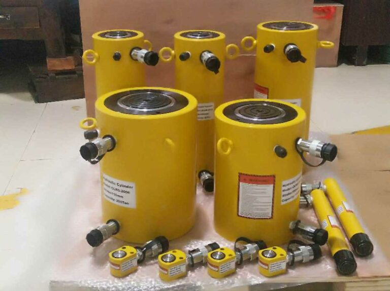 CLRG Double Acting Hydraulic Cylinders and Double Acting Hollow Ram Hydraulic Cylinders