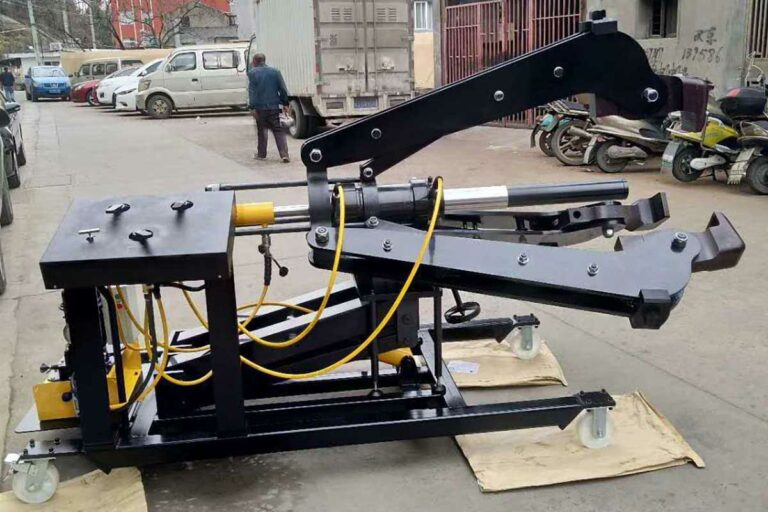100 Ton Mobile Hydraulic Puller