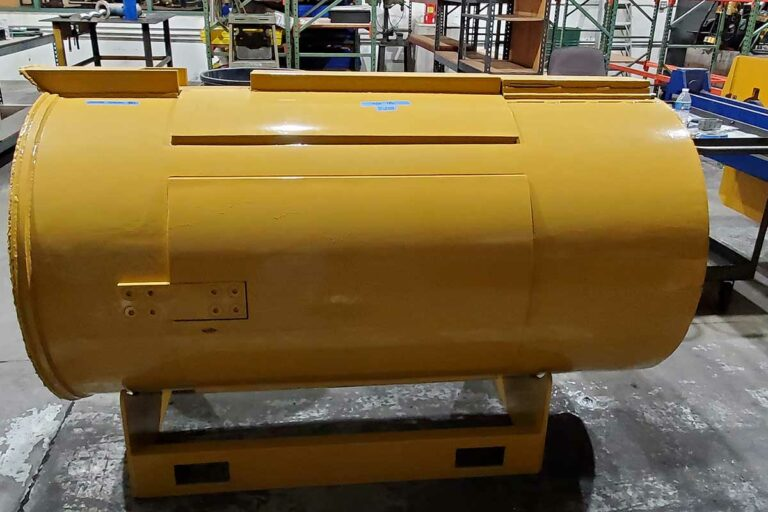 50 Ton Low Height Pancake Hydraulic Cylinder Used In Auger Boring Steerable Rock System