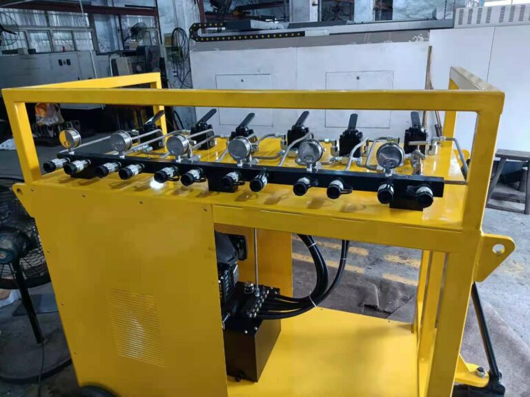Petrol Driven Hydraulic Power Pack For Hydraulic Skidding And Sliding System