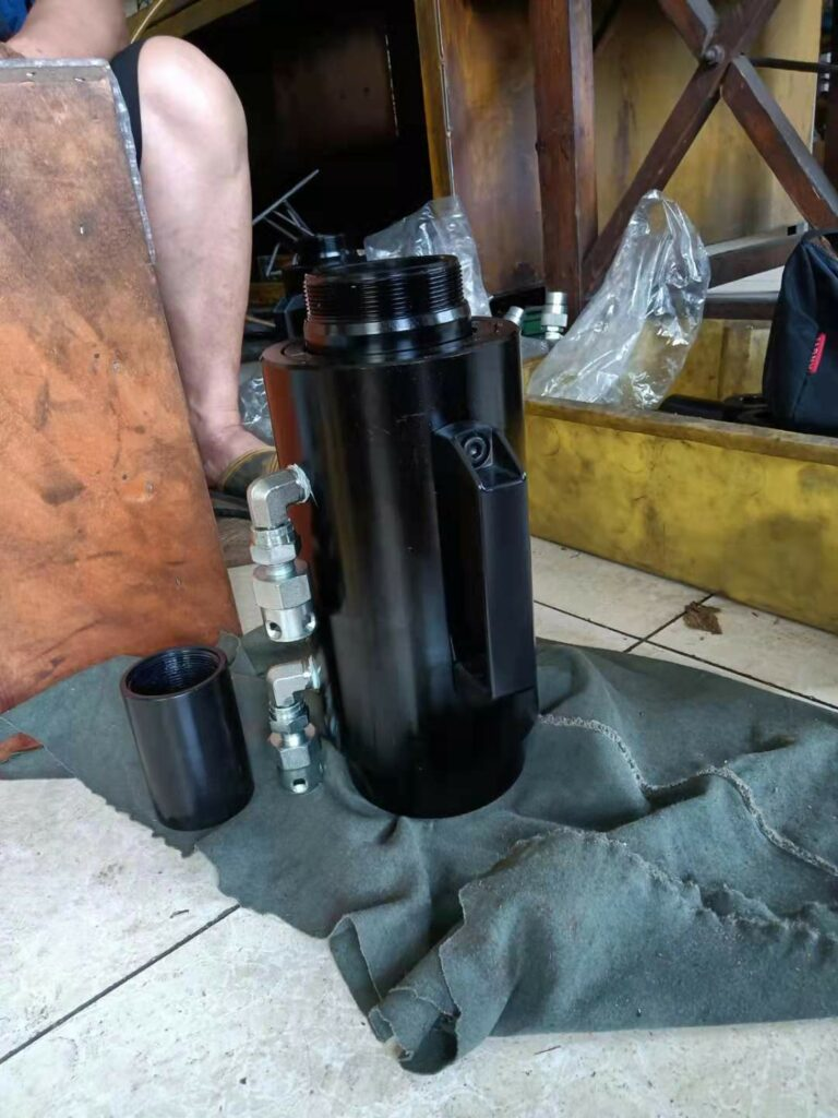 Post Tension Hydraulic Jack And Prestressing Cylinder