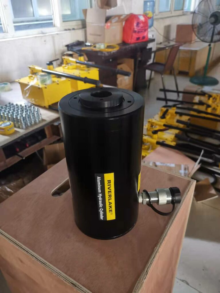 hollow plunger aluminum hydraulic cylinder